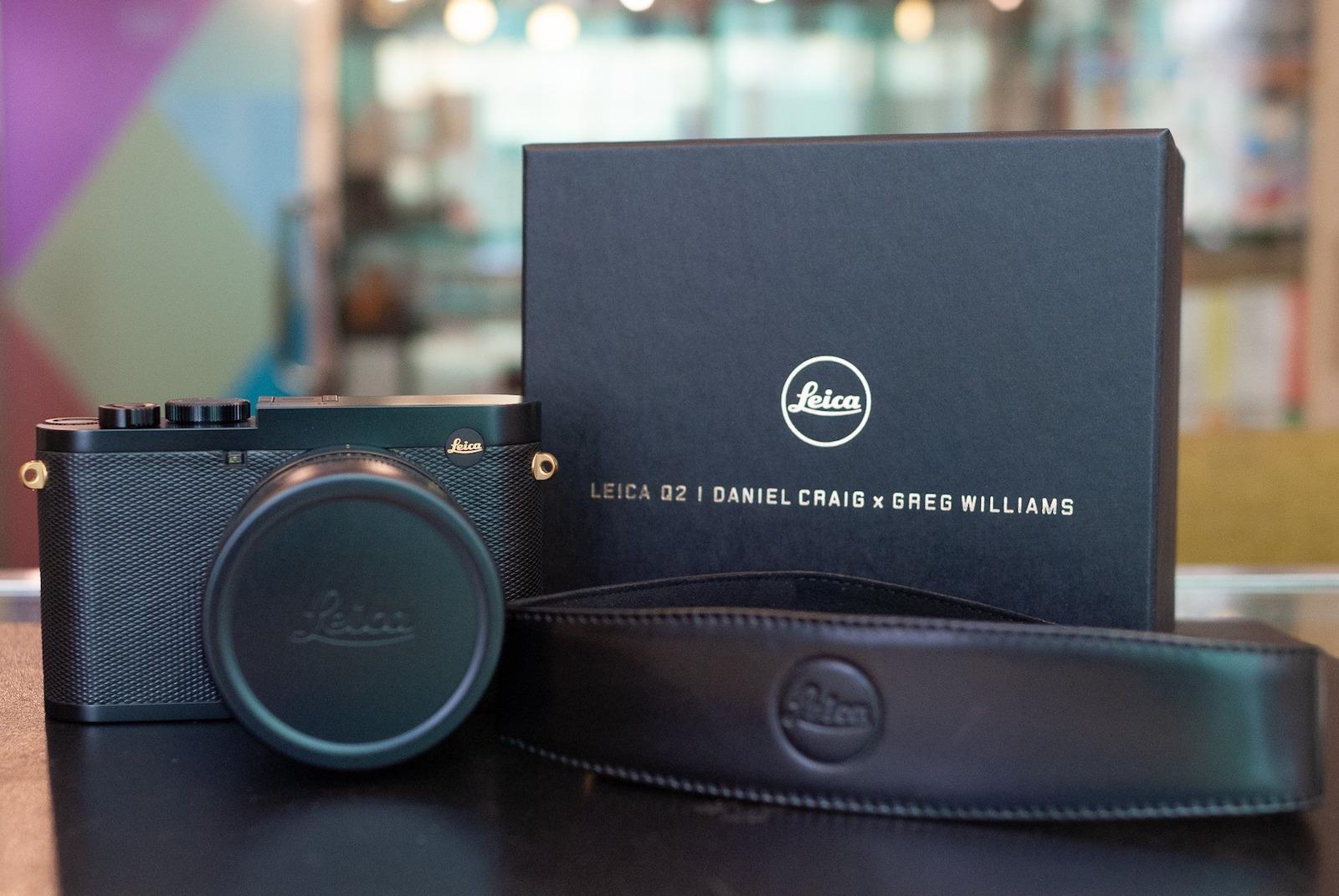 The Leica Q2 Daniel Craig x Greg Williams limited edition camera is already sold out - Leica Rumors
