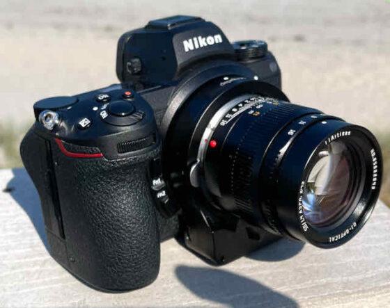 Ending tomorrow: $30 discount on the Megadap MTZ11 Leica M to Nikon Z autofocus adapter