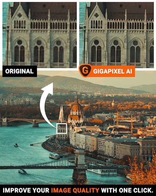 Ending this week: $20 off Topaz Labs Gigapixel AI