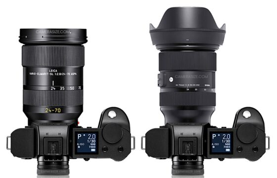 Is the new Leica Vario-Elmarit-SL 24-70mm f/2.8 ASPH lens for L-mount produced by Sigma?