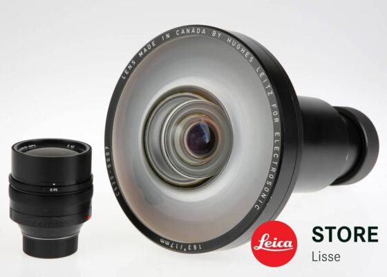 Check out this rare Leica / Hughes Leitz 17mm 2.0 fisheye lens