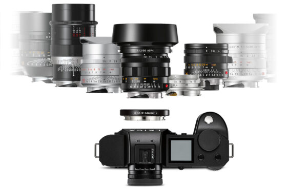 New Leica USA offer: get a free Leica M-Adapter-L with every SL2/SL2-S camera purchase