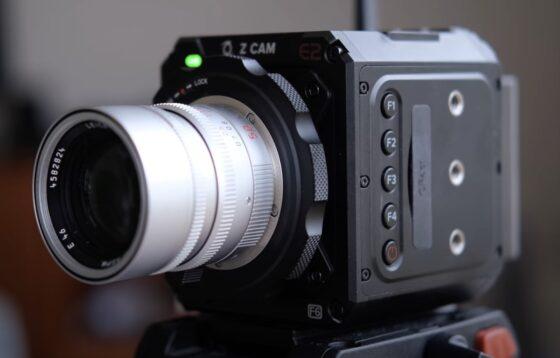 The Z CAM E2 camera has a Leica M-mount version