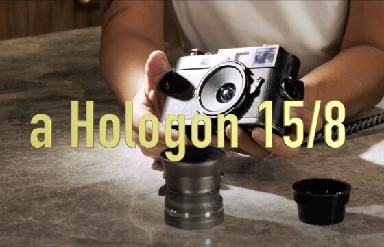 Zeiss Hologon 15mm f/8 lens prototype from Light Lens Lab